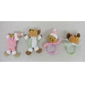 Target Plush Baby Rattles and Photo Frame Ornaments Recalled recall image