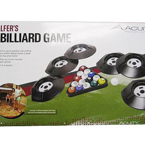 Golfer's Billiard Games Recalled recall image