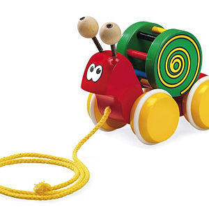 BRIO Pull-Along Snail Toy Recalled recall image