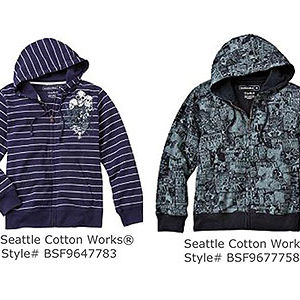 Seattle Cotton Works Hooded Sweatshirts Recalled recall image