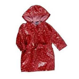 Pumpkin Patch Hooded Girls' Raincoats Recalled recall image