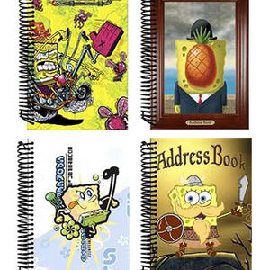 SpongeBob SquarePants Address Books and Journals Recalled recall image