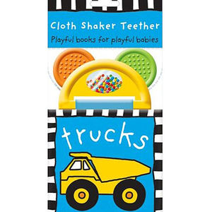 "Priddy ""Trucks"" Shaker Teether Books Recalled recall image"