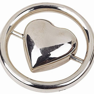 Elegant Baby Sterling Silver Teether Rings Recalled recall image