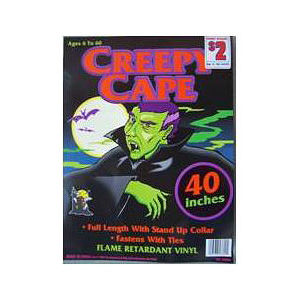 Creepy Cape Costumes Recalled recall image