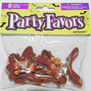 Halloween Teeth Party Favors Recalled recall image