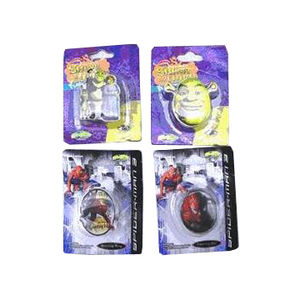 Shrek the Third and Spider-Man 3 Children's Jewelry Recalled recall image