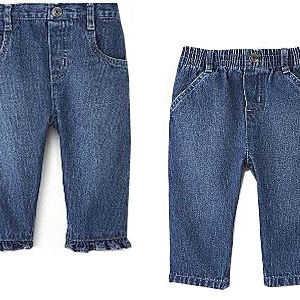 Arizona Newborn and Infant Denim Pants Recalled recall image