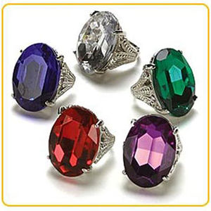 Gigantic Gemstone Ring Party Favors Recalled recall image