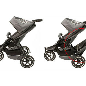 Phil & Teds Double Stroller Recalled recall image