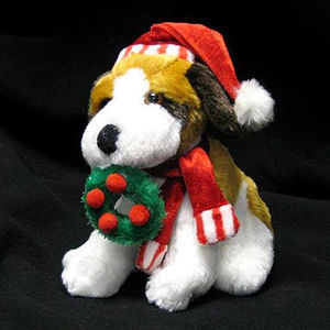 Wal-Mart Stuffed Christmas Beagles Recalled recall image
