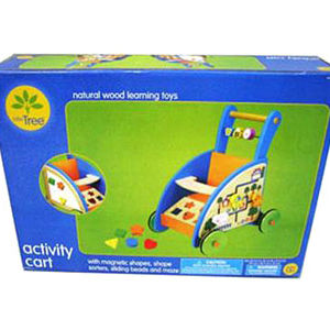 Target Little Tree Wood Activity Cart Recalled recall image