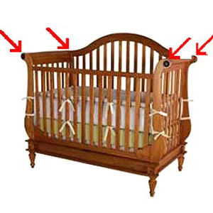 Wendy Bellissimo Collection Convertible Cribs Recalled recall image