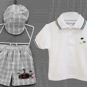 Boys' Three-Piece Short Sets Recalled recall image