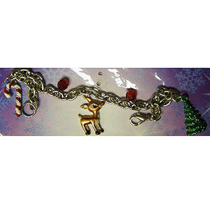 Children's Winter and Holiday-Themed Charm Bracelets Recalled recall image