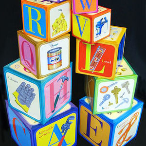 eeBoo Tot Tower Toy Blocks Recalled recall image