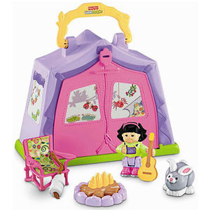 Fisher-Price Little People Play 'n Go Campsite Recalled recall image