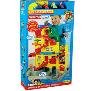 Fisher-Price Little People Wheelies Stand 'n Play Rampway Recalled recall image