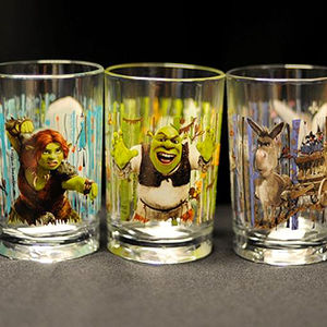 McDonald's movie-themed drinking glasses Recalled recall image