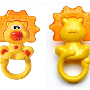 Infantino Lion Infant Teethers Recalled recall image