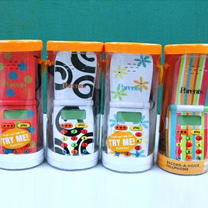 Parents Magazine Record-A-Voice Toy Cell Phones Recalled recall image