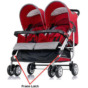 Zooper Tango Double Stroller Recalled recall image