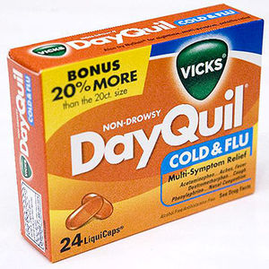 Vicks Dayquil Cold & Flu Liquicaps Recalled recall image