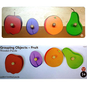Kid O Products Wooden Fruit Puzzles Recalled recall image