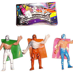 Lee Carter Co. Mexican Wrestling Action Figures Recalled recall image