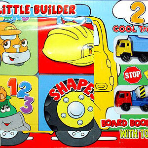 Little Builder Children's Board Book Sets with Toys Recalled recall image