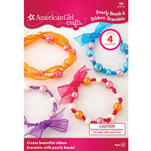 EKSuccess Brands American Girl Crafts Pearly Beads & Ribbon Bracelets Kit Recalled recall image