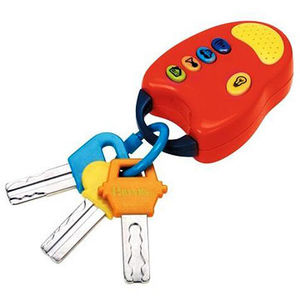 Battat Toy Keys with Remote Recalled recall image
