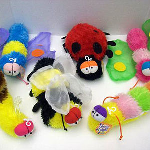 Cuddly Cousins Plush Insect Toys Recalled recall image
