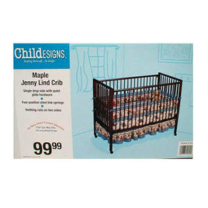 "Generation 2 Worldwide and ""ChildESIGNS"" Drop Side Crib Recalled recall image"