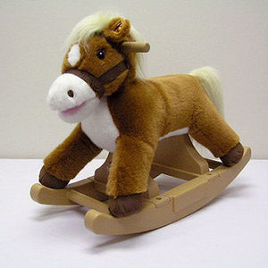 Rock 'N Ride Plush Rocker Toys Recalled recall image