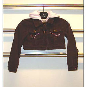 Squeeze Kids Girls' Corduroy Hooded Jackets Recalled recall image