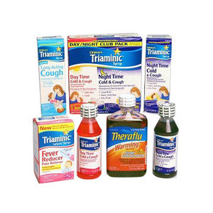 Triaminic Syrups and Theraflu Warming Relief Syrups Recalled recall image