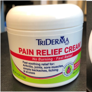 TriDerma Recalls Pain Relief Cream Due to Failure to Meet Child Resistant Closure Requirement; Risk of Poisoning (Recall Alert) recall image