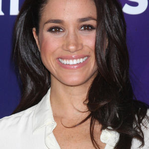 Meghan Markle Smiling White Top