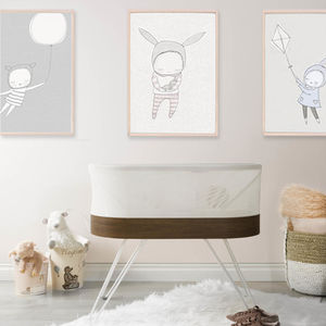 Pink Nursery SNOO Smart Sleeper
