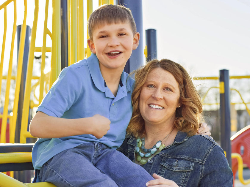 Angie Duray and Son Will Duray