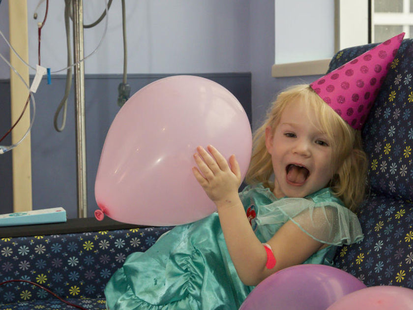 Child With Leukemia Birthday Party