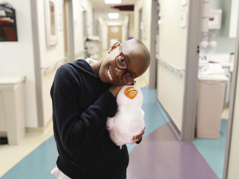 My Special Aflac Duck in Hospital