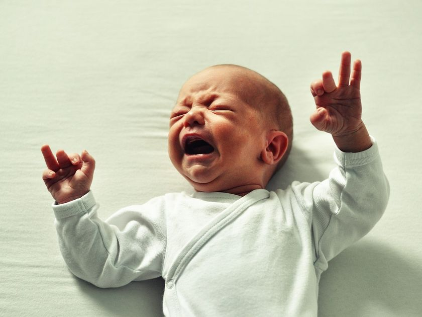 baby crying it out when to start sleep training