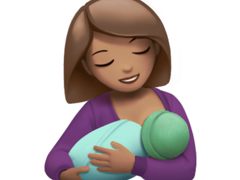 Breastfeeding emoji