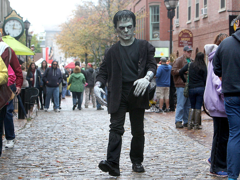 Haunted Happenings Celebration in Salem, Mass