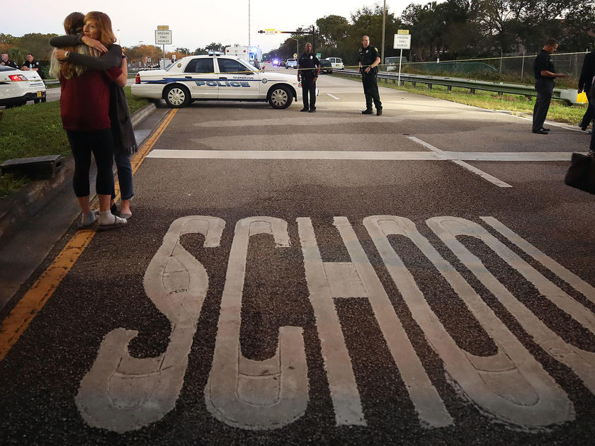 School Shooting Check Point