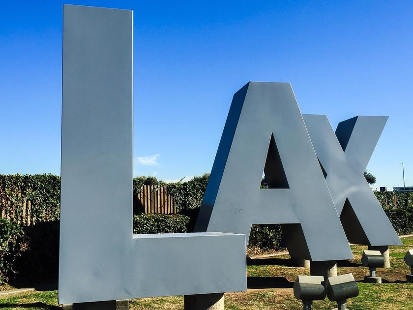 LAX sign from Sepulveda