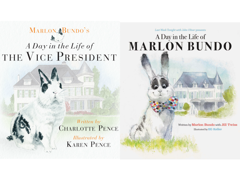 A Day in the Life of the Vice President and Marlon Bundo