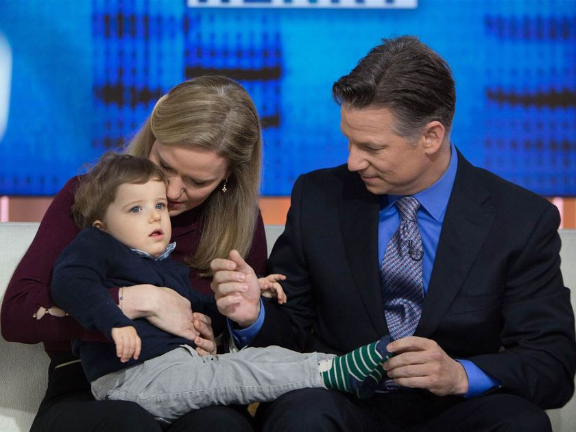 Richard Engel and Family TODAY